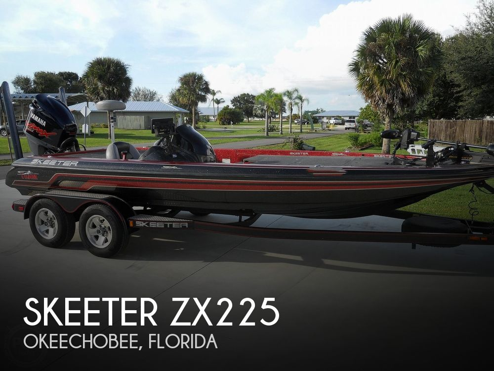 2008 Skeeter boat for sale, model of the boat is ZX225 & Image # 1 of 40