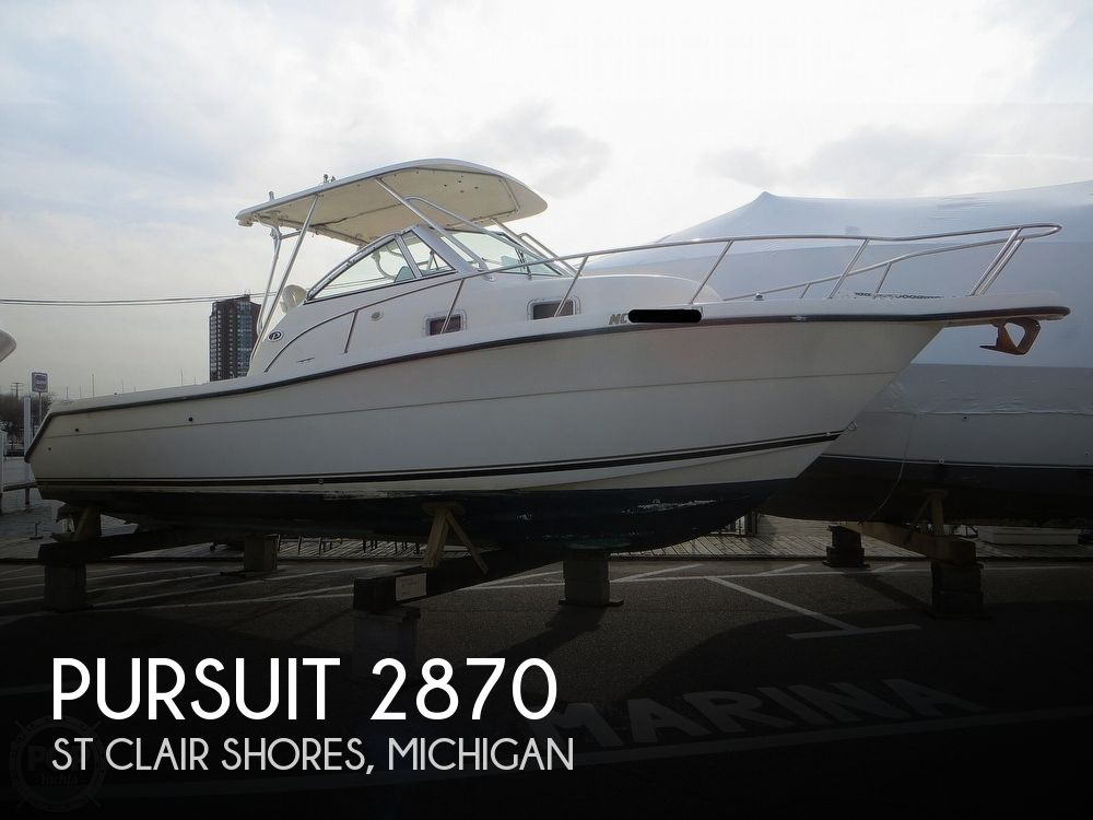 1996 Pursuit boat for sale, model of the boat is 2855 Express Fisherman & Image # 1 of 13