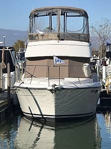 1994 Carver boat for sale, model of the boat is 300 Aft Cabin & Image # 3 of 26