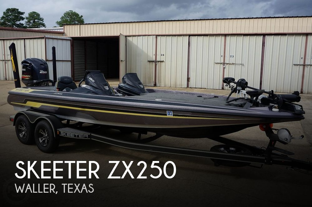 2019 Skeeter boat for sale, model of the boat is ZX250 & Image # 1 of 40