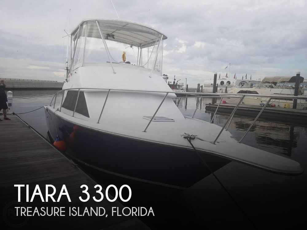 Used Tiara Boats For Sale by owner   1986 Tiara 3300 Flybridge