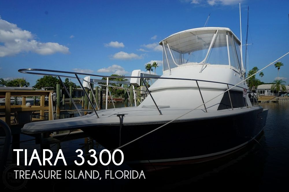 1986 Tiara Yachts boat for sale, model of the boat is 3300 Flybridge & Image # 1 of 40