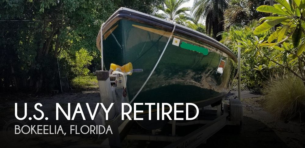 1986 U.S. Navy Retired boat for sale, model of the boat is WHALE Boat & Image # 1 of 40
