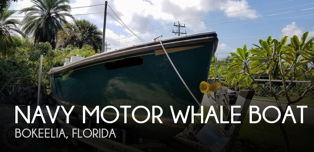 1986 Navy Motor Whale boat boat for sale, model of the boat is WHALE Boat & Image # 1 of 40