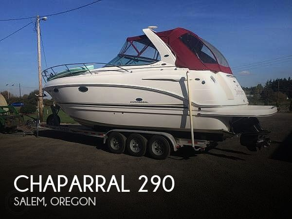 Used Boats For Sale in Salem, Oregon by owner | 2005 Chaparral 290 Signature