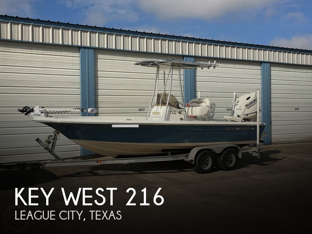 2011 KEY WEST BAY REEF 216 for sale