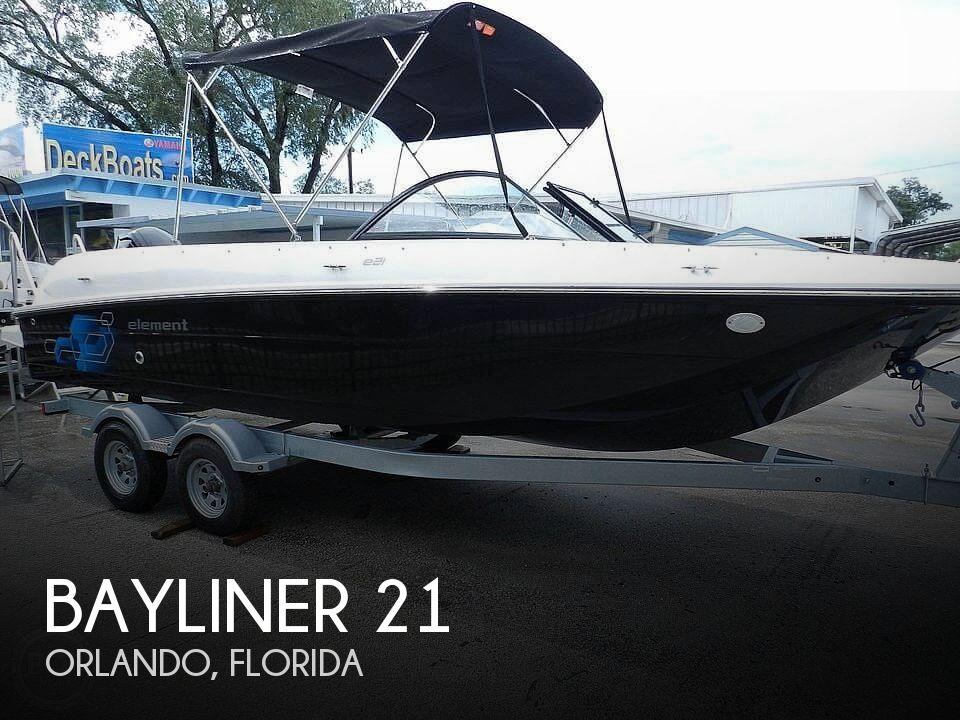Used Bayliner Ski Boats For Sale by owner | 2020 Bayliner e21