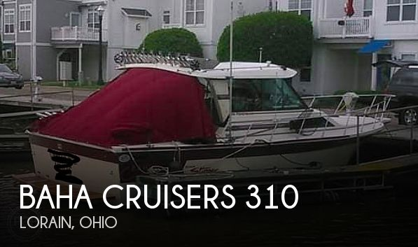 1988 Baha Cruisers boat for sale, model of the boat is 310 Sport Fisherman & Image # 1 of 40