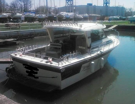 1988 Baha Cruisers boat for sale, model of the boat is 310 Sport Fisherman & Image # 15 of 40