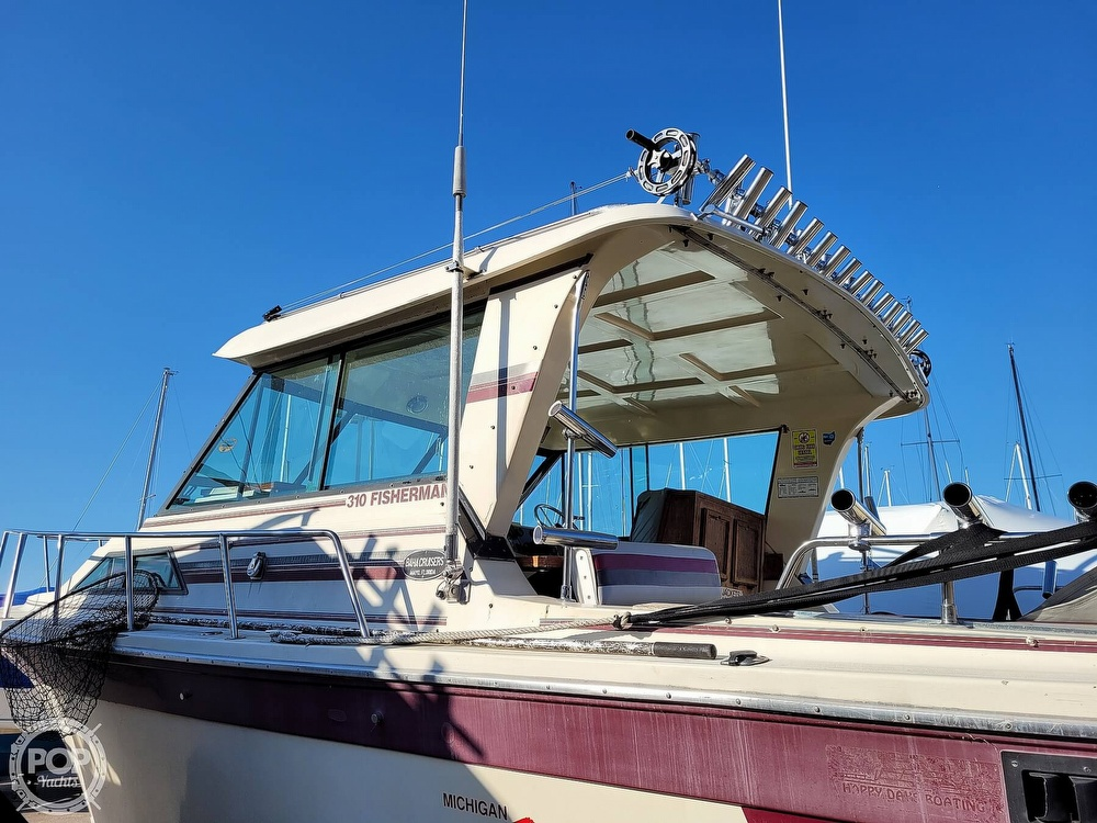 1988 Baha Cruisers boat for sale, model of the boat is 310 Sport Fisherman & Image # 40 of 40