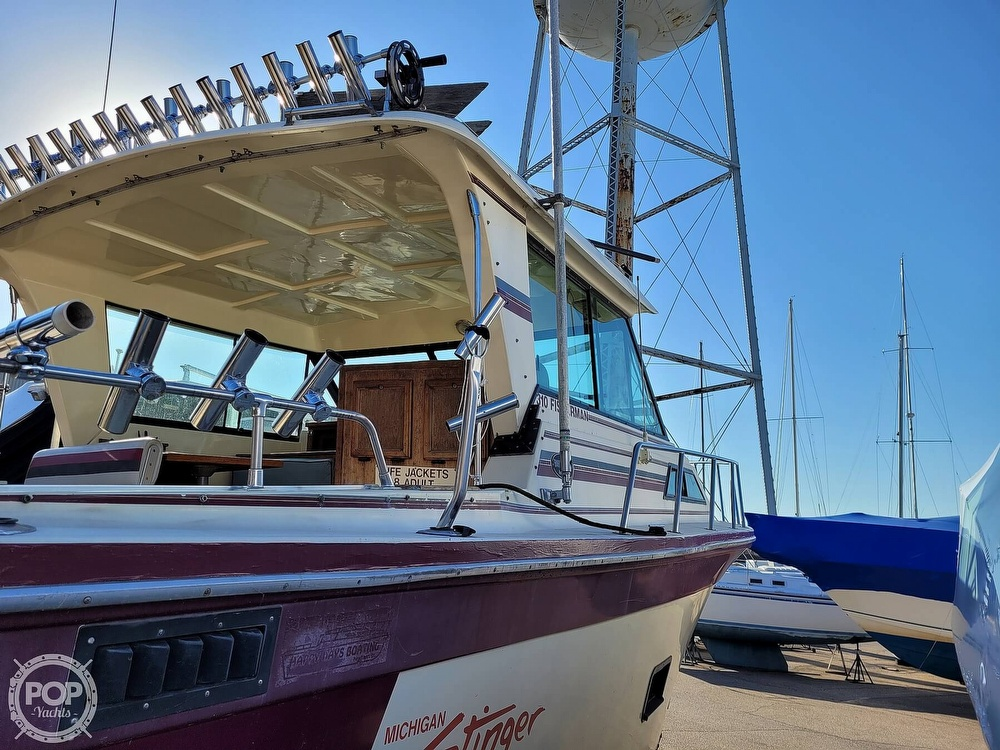 1988 Baha Cruisers boat for sale, model of the boat is 310 Sport Fisherman & Image # 26 of 40