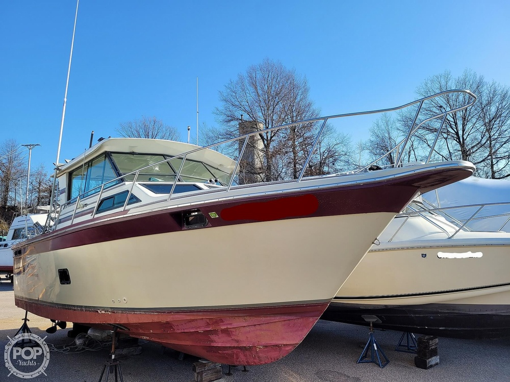 1988 Baha Cruisers boat for sale, model of the boat is 310 Sport Fisherman & Image # 9 of 40