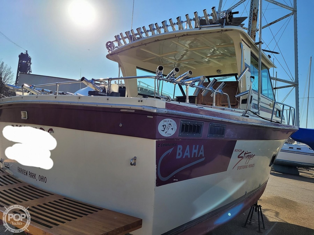 1988 Baha Cruisers boat for sale, model of the boat is 310 Sport Fisherman & Image # 13 of 40