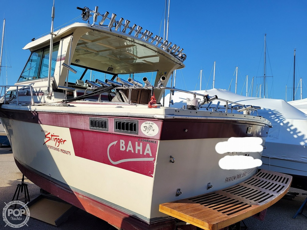 1988 Baha Cruisers boat for sale, model of the boat is 310 Sport Fisherman & Image # 10 of 40