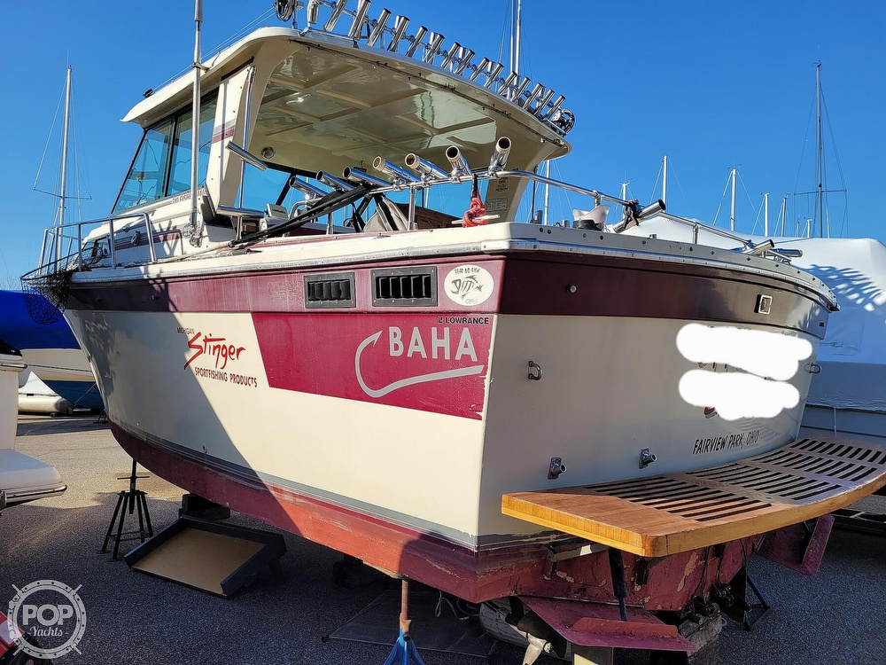 1988 Baha Cruisers boat for sale, model of the boat is 310 Sport Fisherman & Image # 12 of 40