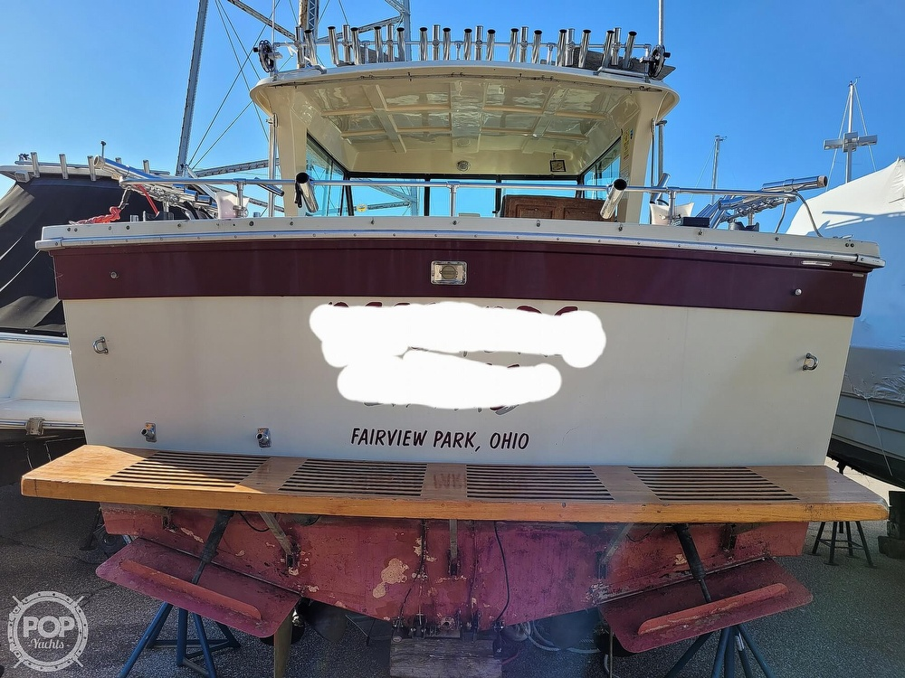 1988 Baha Cruisers boat for sale, model of the boat is 310 Sport Fisherman & Image # 14 of 40