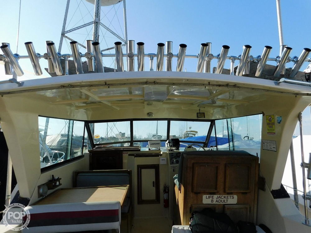 1988 Baha Cruisers boat for sale, model of the boat is 310 Sport Fisherman & Image # 30 of 40