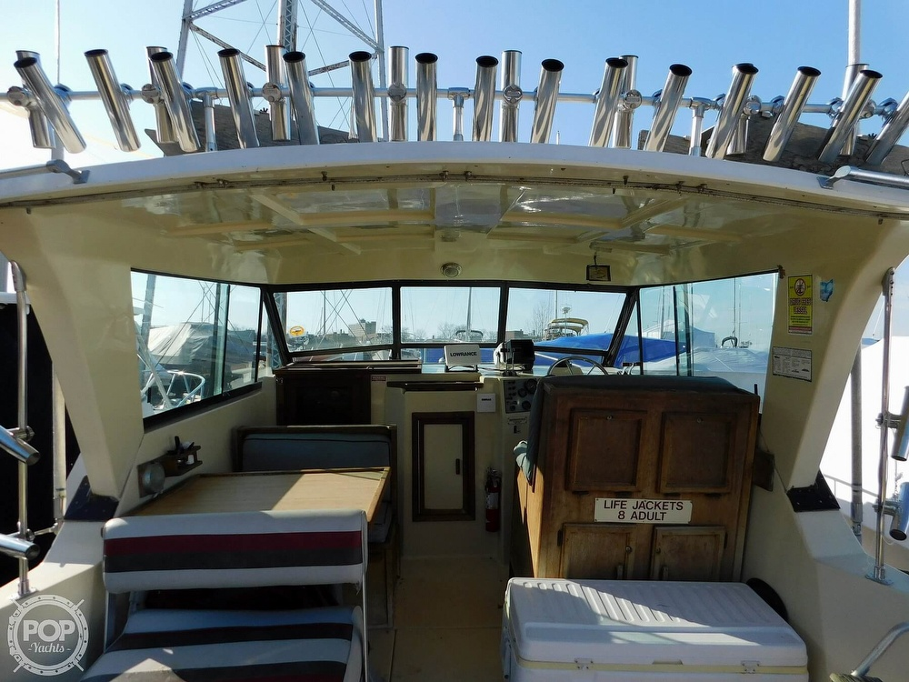 1988 Baha Cruisers boat for sale, model of the boat is 310 Sport Fisherman & Image # 29 of 40