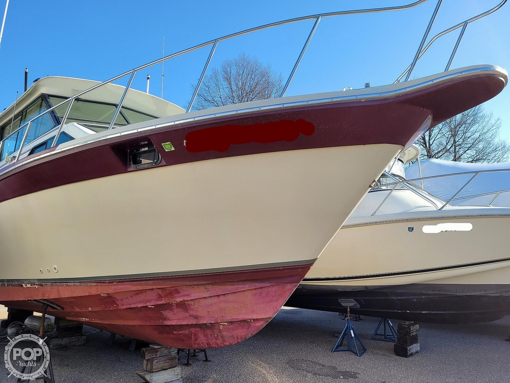 1988 Baha Cruisers boat for sale, model of the boat is 310 Sport Fisherman & Image # 16 of 40