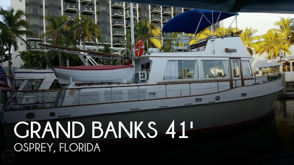 Used GRAND BANKS Boats For Sale by owner | 1972 Grand Banks 41