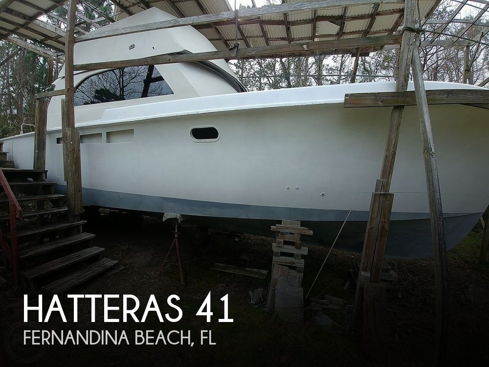 1965 Hatteras boat for sale, model of the boat is 41 Sport Fish & Image # 1 of 40