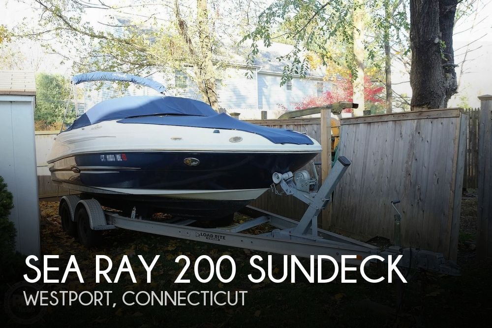 2011 SEA RAY 200 SUNDECK for sale