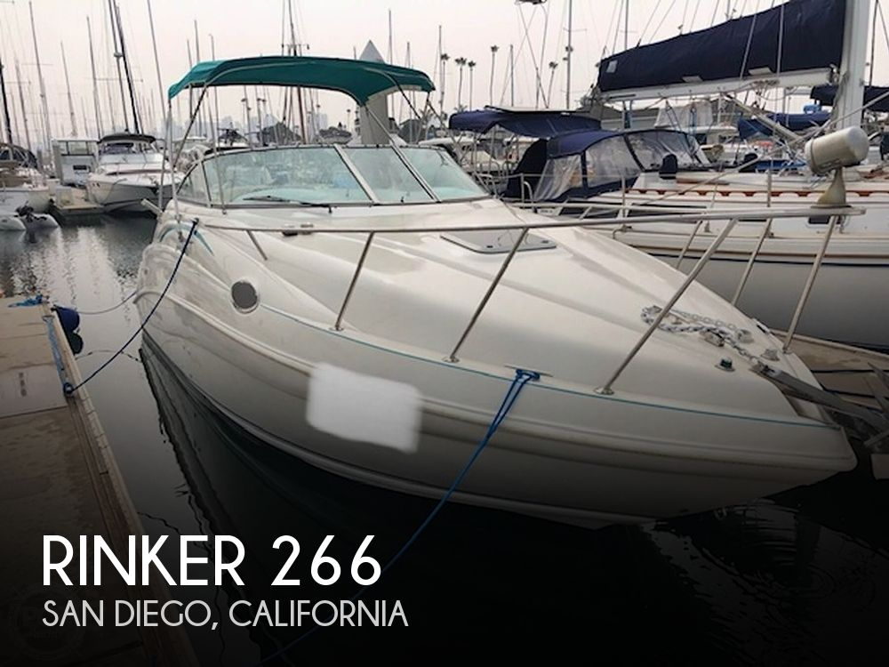 Used Rinker 26 Boats For Sale by owner | 1996 Rinker Fiesta Vee 266