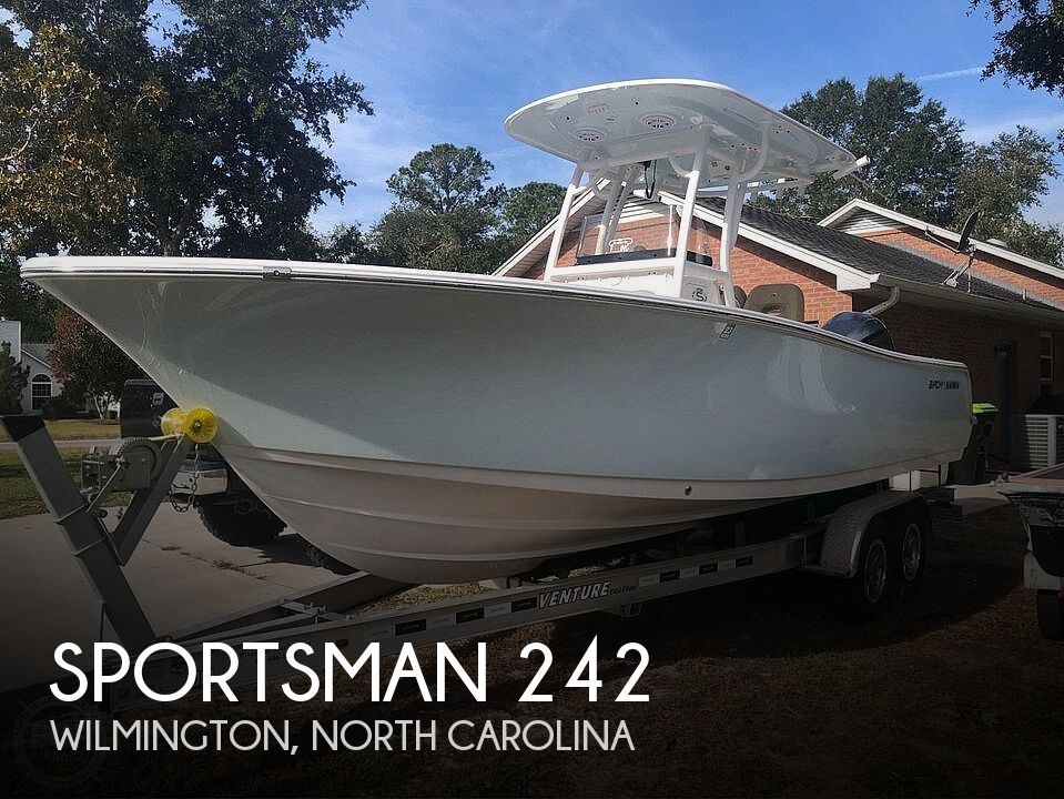 Used Power boats For Sale in North Carolina by owner | 2019 Sportsman Open 242 CC