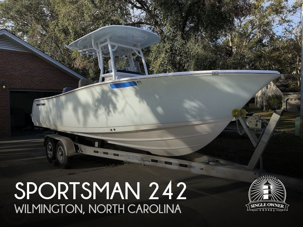 2019 Sportsman Boats boat for sale, model of the boat is Open 242 CC & Image # 1 of 40