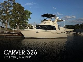 2000 Carver boat for sale, model of the boat is 326 & Image # 1 of 40