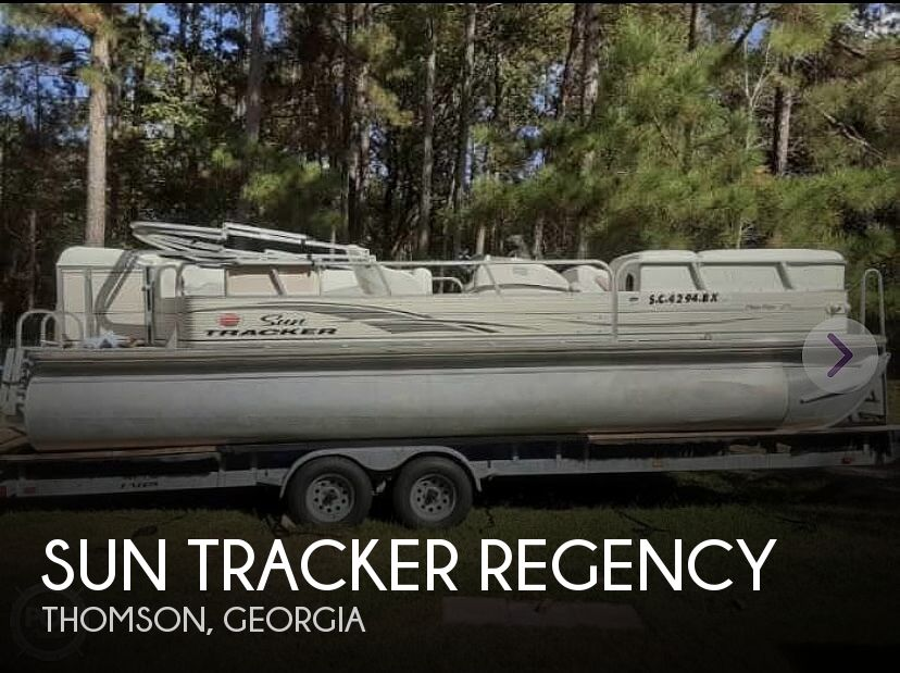 Used Pontoon Boats For Sale in Georgia by owner | 2007 27 foot Tracker Regency