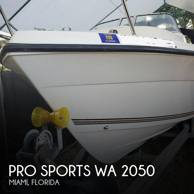 2003 Pro Sports boat for sale, model of the boat is WA 2050 & Image # 1 of 40