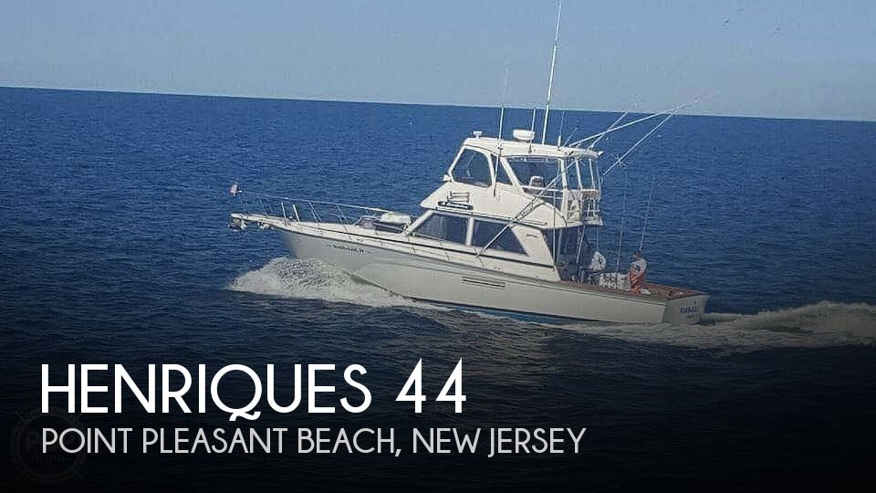 1988 Henriques boat for sale, model of the boat is 44 & Image # 1 of 24