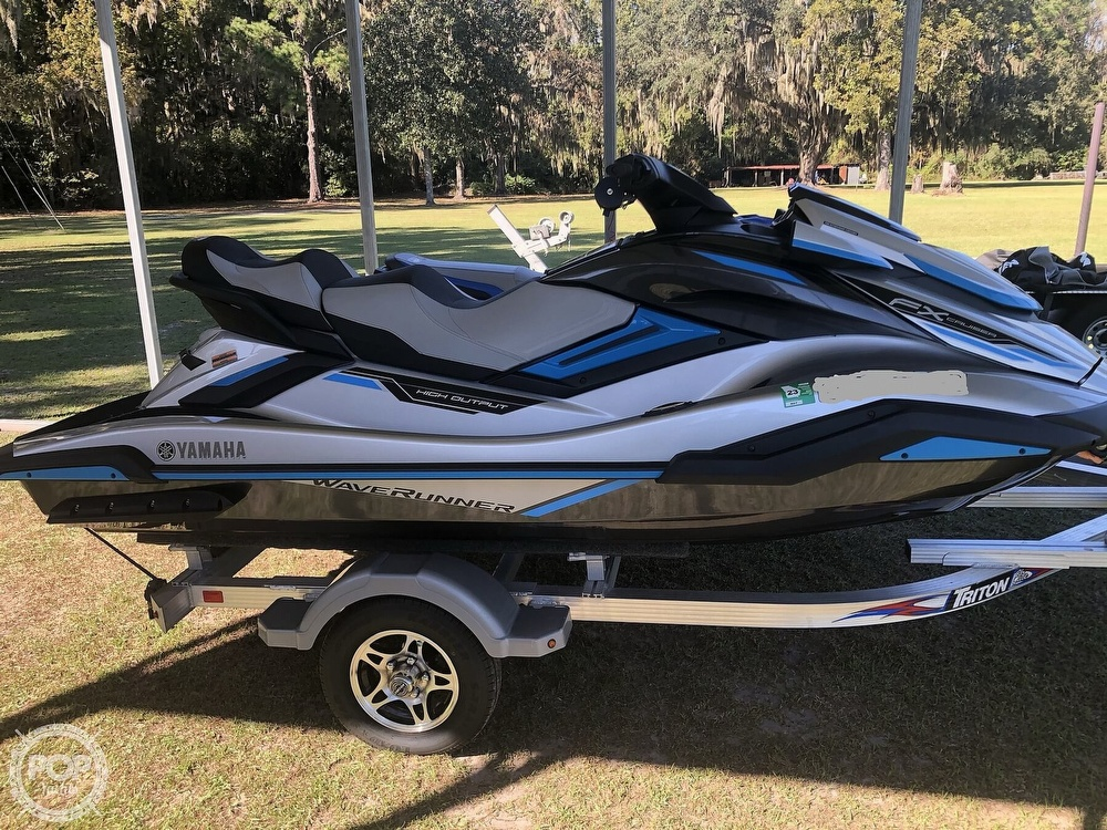2020 Yamaha boat for sale, model of the boat is FX HO/ EX Deluxe & Image # 9 of 40