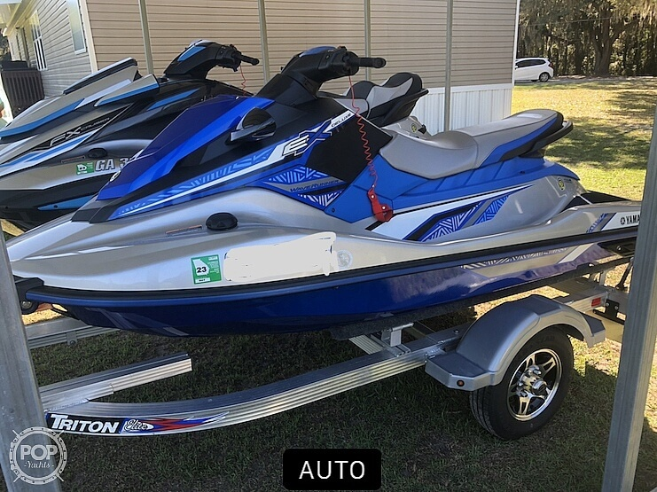 2020 Yamaha boat for sale, model of the boat is FX HO/ EX Deluxe & Image # 10 of 40