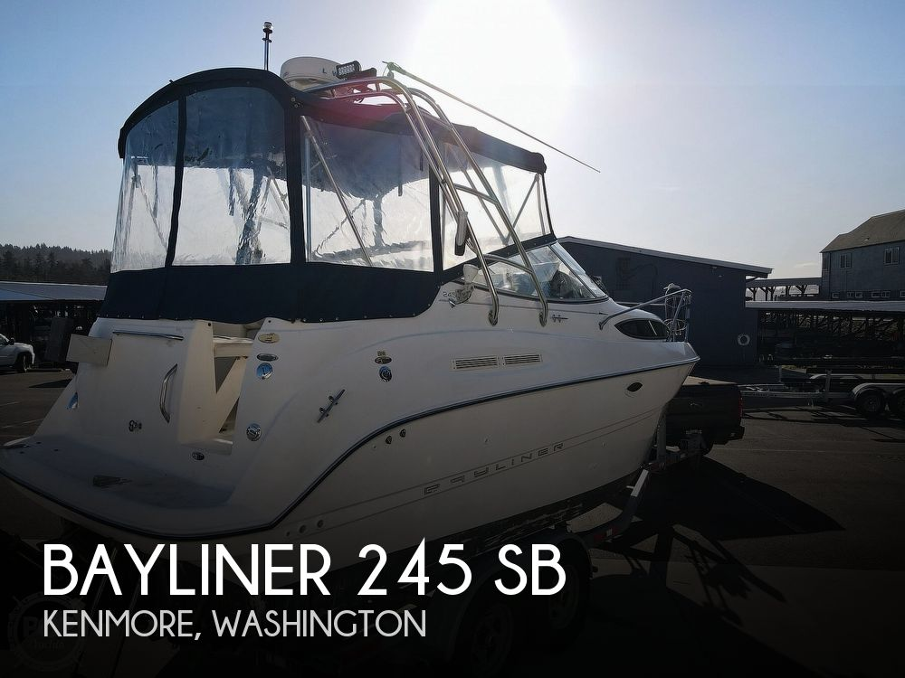 2005 BAYLINER 245 SB for sale