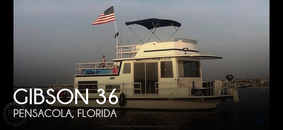 Used Houseboats For Sale in Pensacola, Florida by owner | 1979 Gibson 36