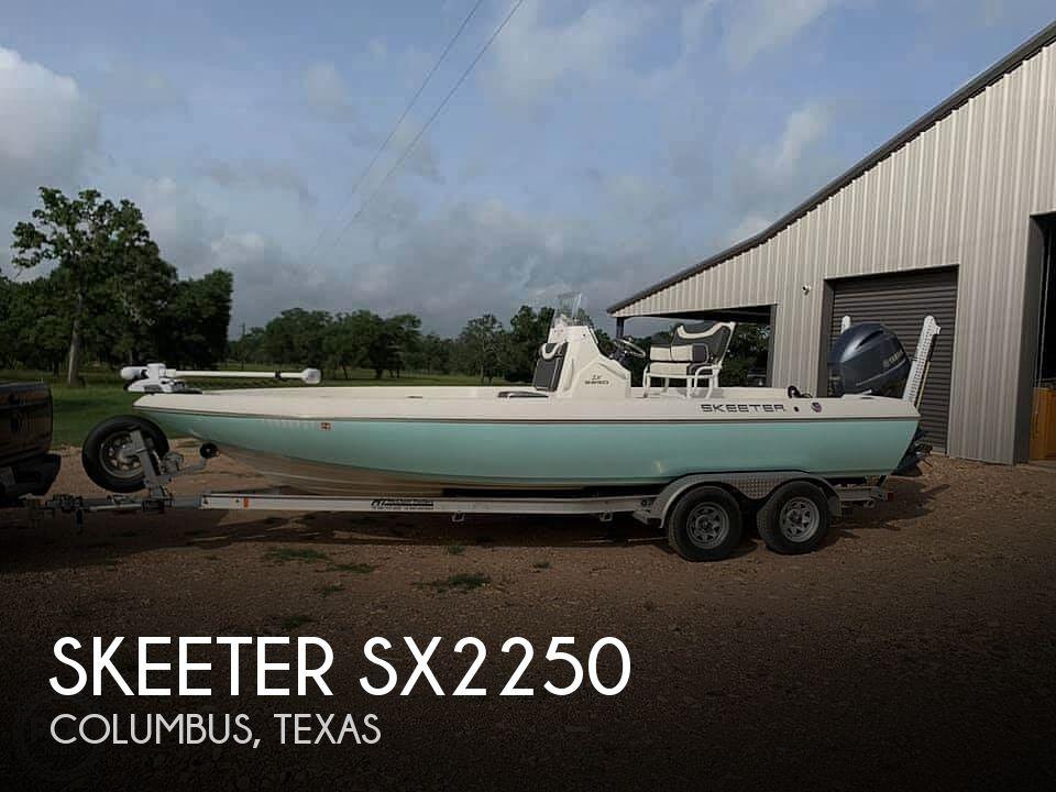 Used Skeeter Boats For Sale in Texas by owner | 2018 Skeeter Sx2250