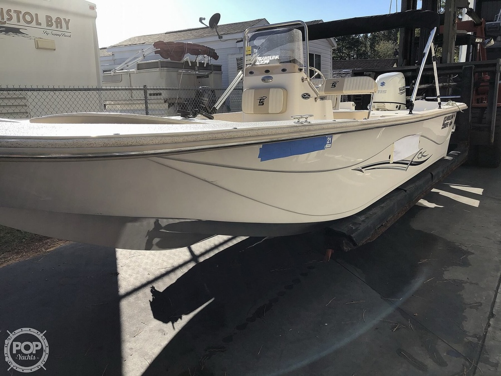 2018 Carolina Skiff boat for sale, model of the boat is 218 Dlv & Image # 3 of 41