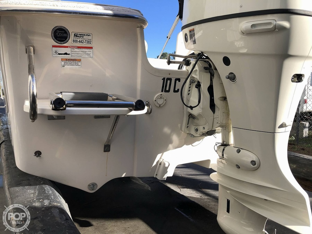 2018 Carolina Skiff boat for sale, model of the boat is 218 Dlv & Image # 17 of 41