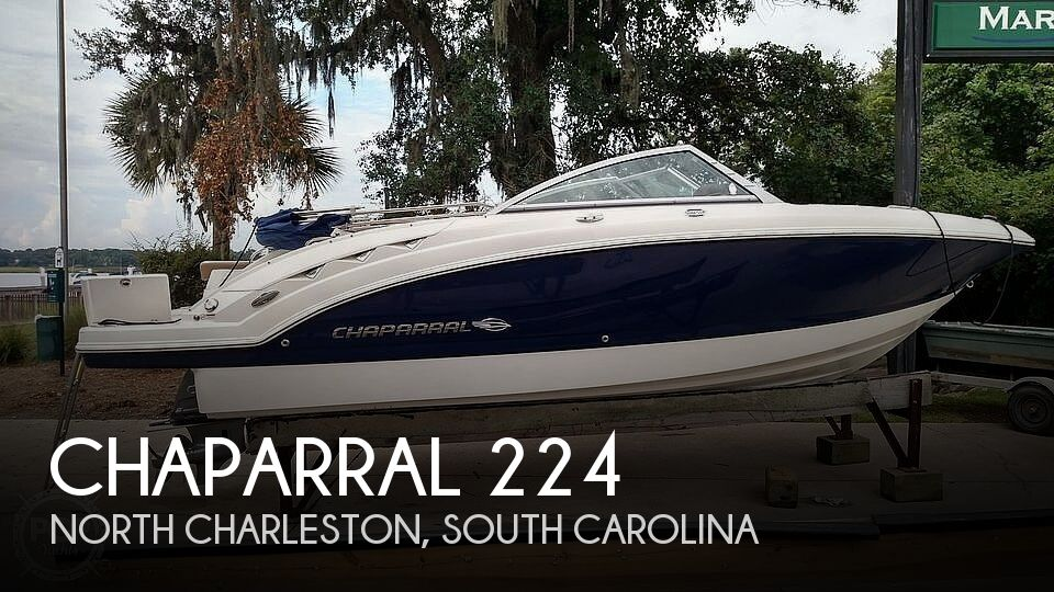 Used Deck Boats For Sale by owner | 2016 Chaparral 224 Sunesta