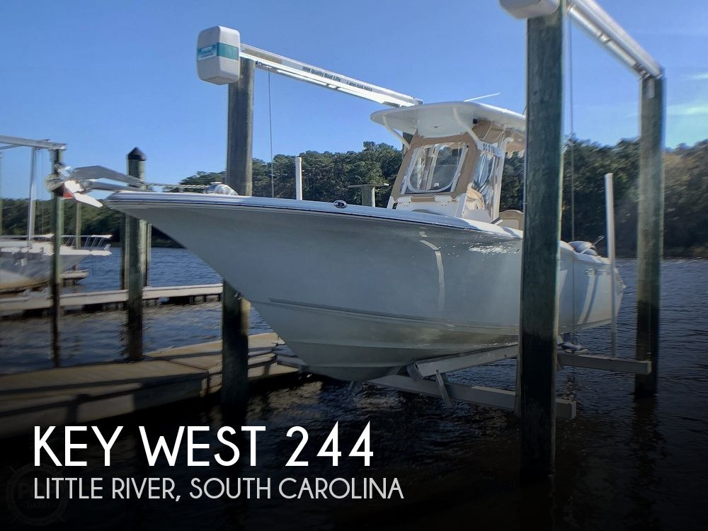 2017 Key West boat for sale, model of the boat is 244 CC Bluewater & Image # 1 of 40