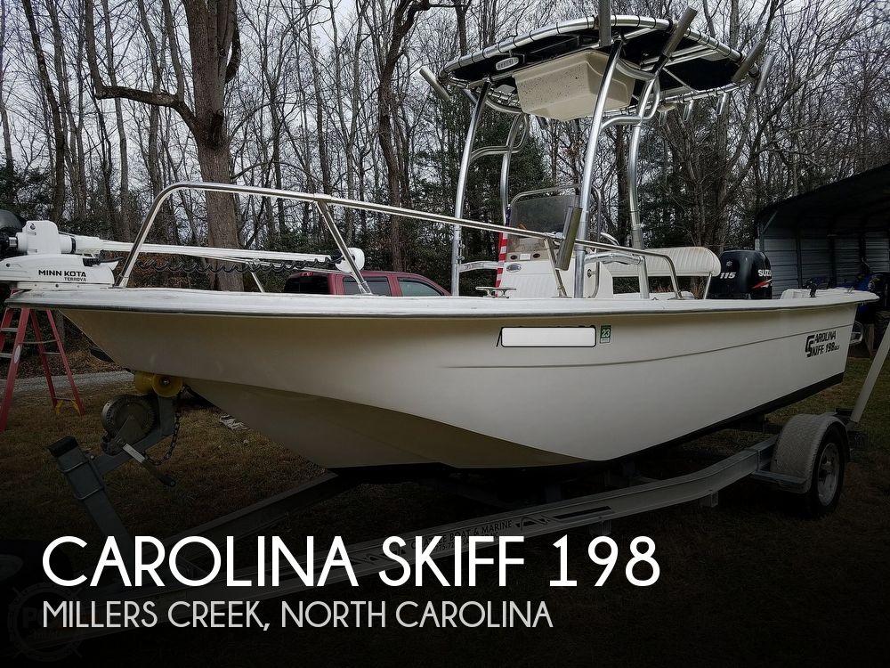 2011 Carolina Skiff boat for sale, model of the boat is 198 DLV & Image # 1 of 40