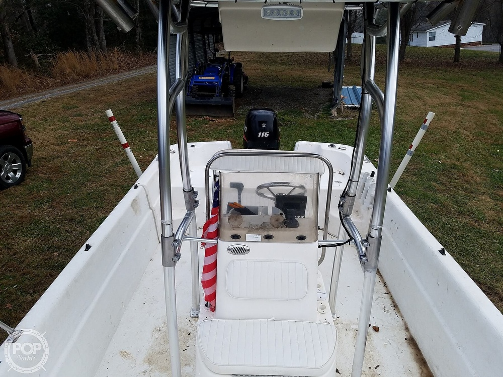 2011 Carolina Skiff boat for sale, model of the boat is 198 DLV & Image # 6 of 40