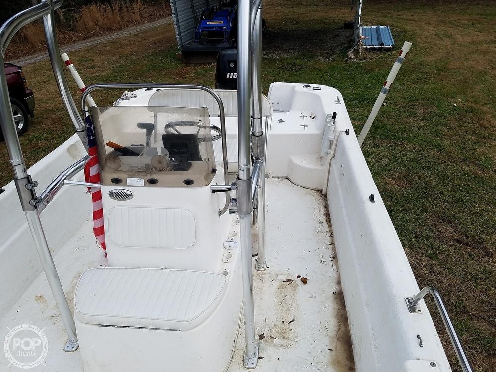 2011 Carolina Skiff boat for sale, model of the boat is 198 DLV & Image # 8 of 40