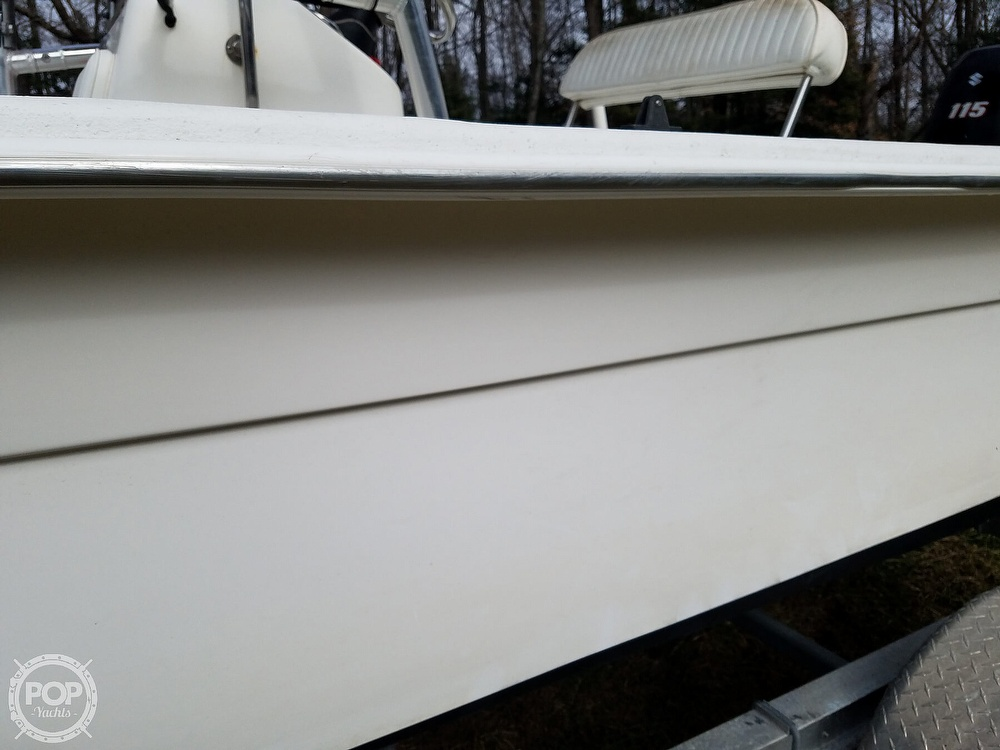 2011 Carolina Skiff boat for sale, model of the boat is 198 DLV & Image # 27 of 40