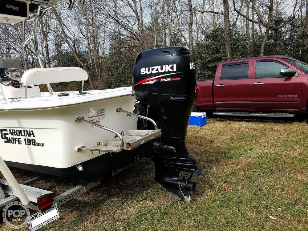 2011 Carolina Skiff boat for sale, model of the boat is 198 DLV & Image # 29 of 40