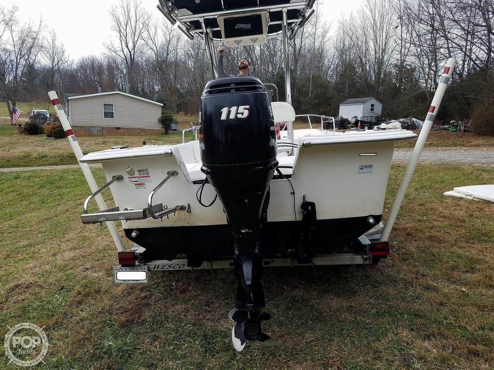 2011 Carolina Skiff boat for sale, model of the boat is 198 DLV & Image # 32 of 40
