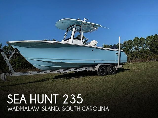 2018 Sea Hunt boat for sale, model of the boat is Ultra 235 SE & Image # 1 of 40