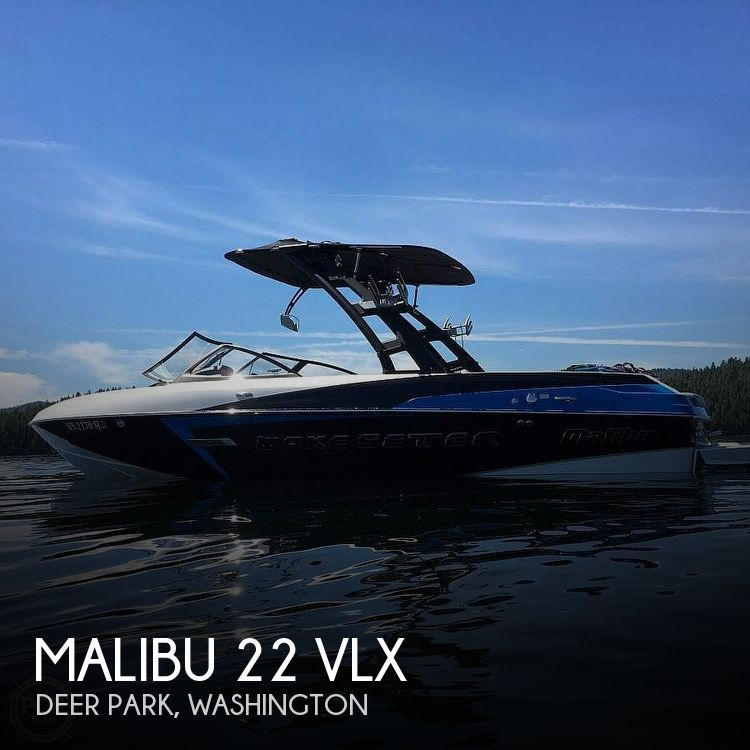 Used Boats For Sale in Spokane, Washington by owner | 2015 Malibu 22 VLX